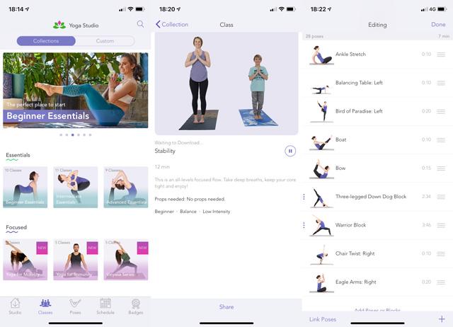 Best online yoga for beginners: Yoga Studio