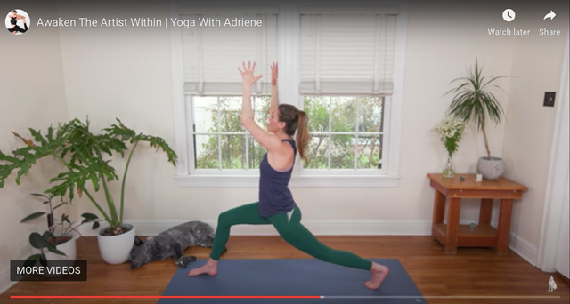 Best online yoga for the family: Yoga with Adriene