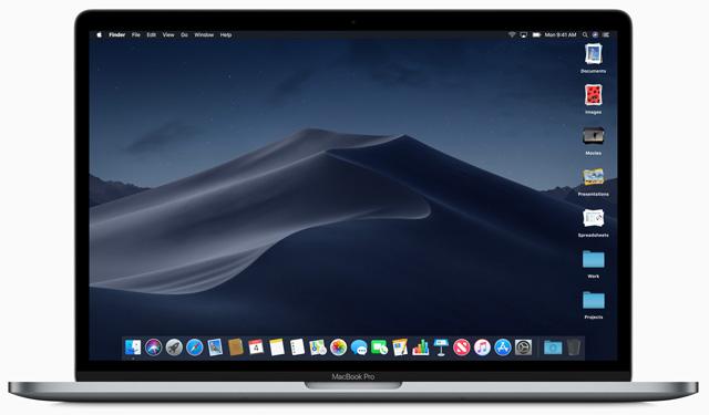 MacOS stacks