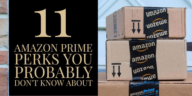 11 Amazon Prime Perks You Probably Don't Know About