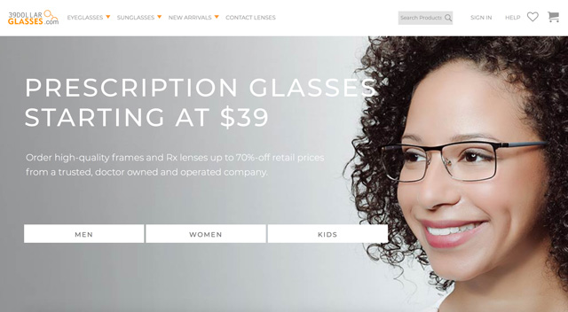Best for refitting old frames: 39dollarglasses
