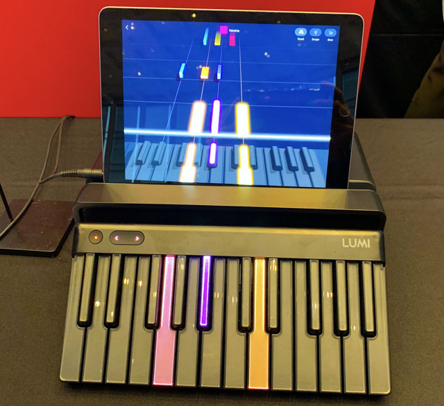 Roli Lumi Piano Teaching Keyboard