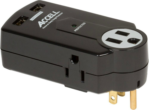 Accell Travel Power Strip