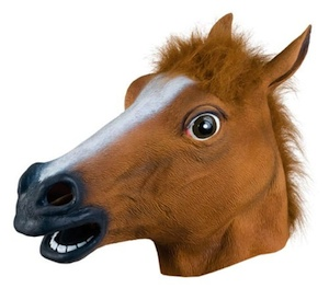 Accoutrements Horse Head Mask