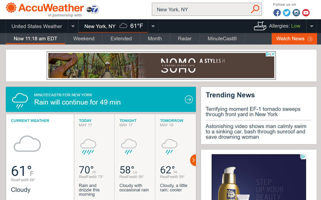 4 Best Weather Sites - Techlicious