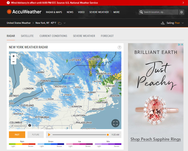 Accuweather maps