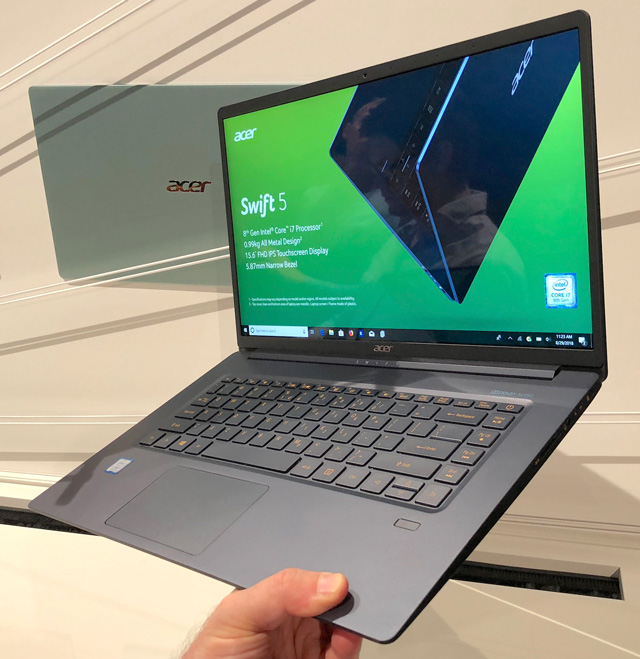 The lightest 15-inch laptop