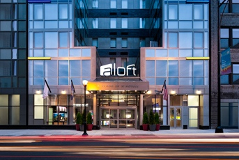 Aloft hotel in Manhattan