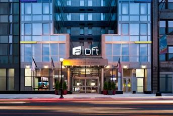 Aloft hotel in Manhattan