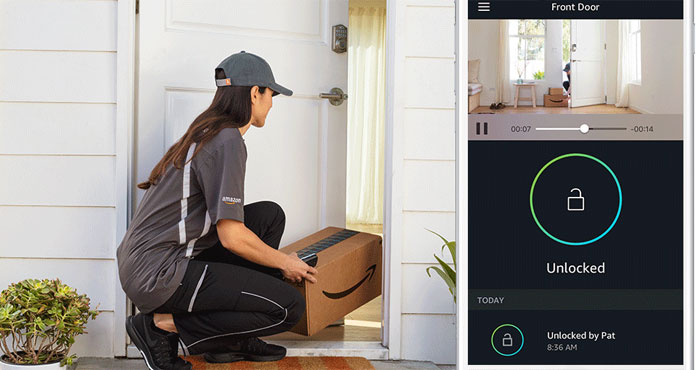 Amazon Key allows in-home package deliveries