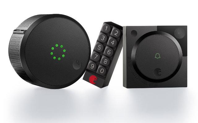 August Smart Lock, Doorbell Cam and Smart Keypad