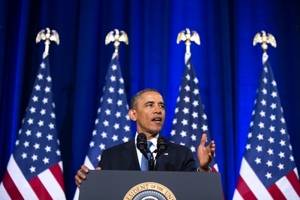 Barack Obama addresses the nation