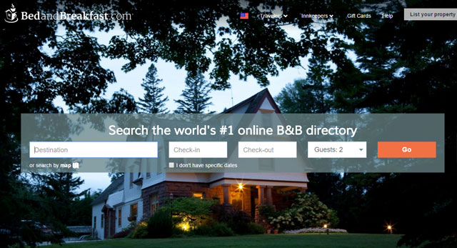 Go local with a place on BedandBreakfast.com