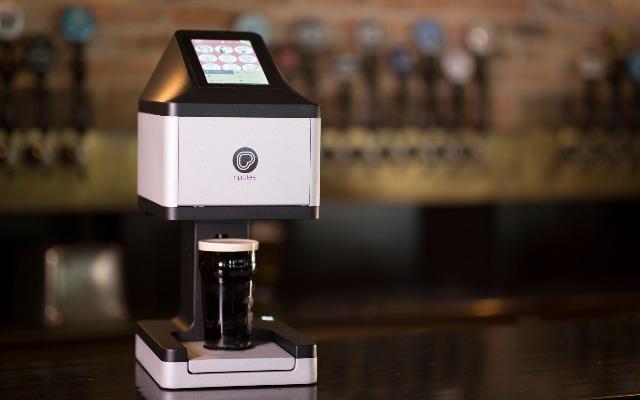 Beer Ripples printer