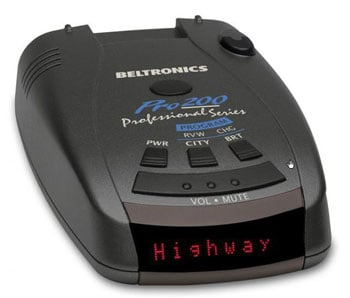 Bel Pro 200 radar detector