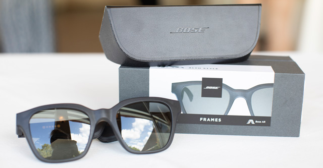 Bose Frames with case