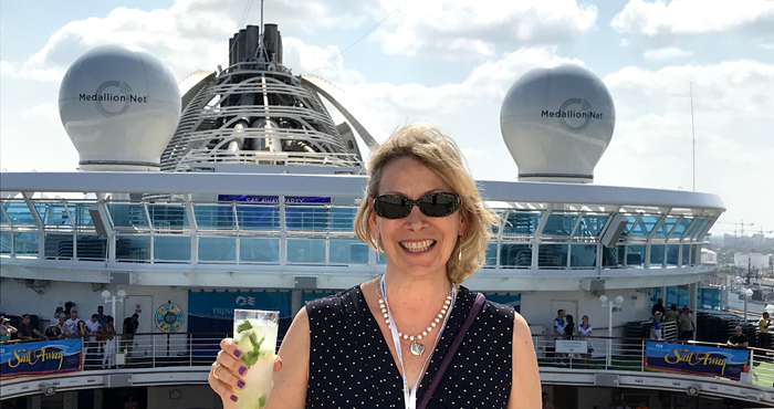 Cruising with an OceanMedallion on the Caribbean Princess