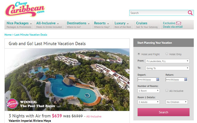 The Best Sites For Booking LastMinute Travel Techlicious - Last minute vacation deals from boston