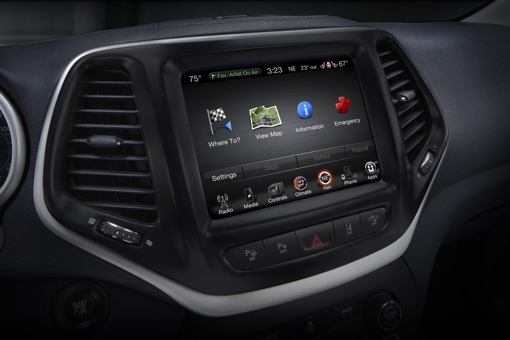 Chrysler in-dash entertainment system