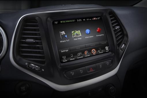 Chrysler in-dash entertainment system