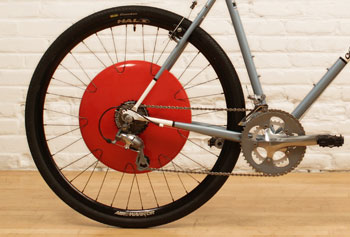 Copenhagen Wheel electric back wheel