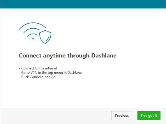 Dashlane VPN