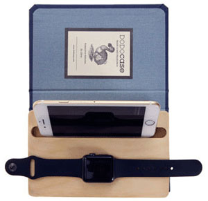 Dodocase Dual Charging Dock Organizer for iPhone and Apple Watch