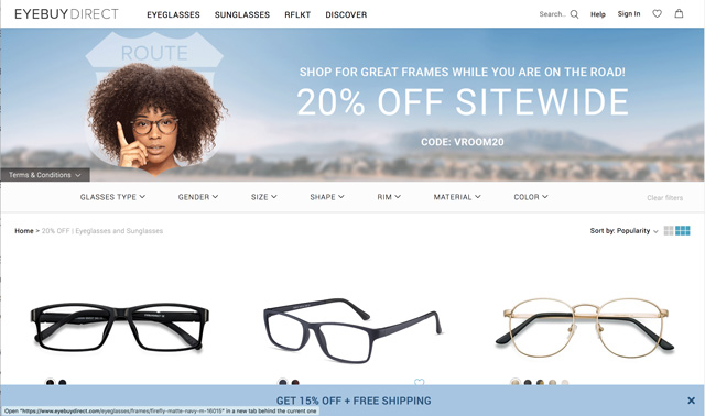 600c80c7dc78 The Best Sites for Buying Affordable Glasses - Techlicious