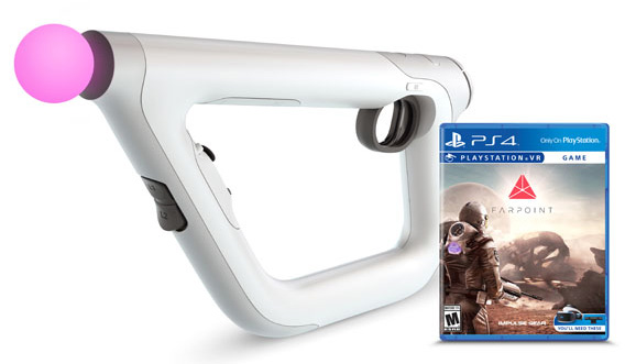 Sony Farpoint Game with VR Aim Controller