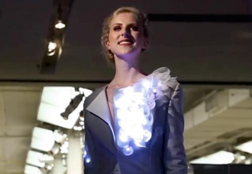 Model at the Fashionwear Fashion Show