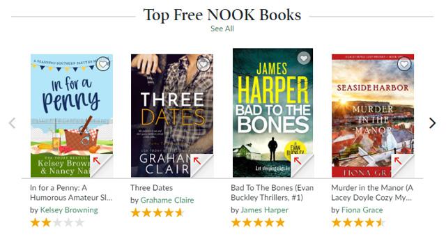 Barnes & Noble free books