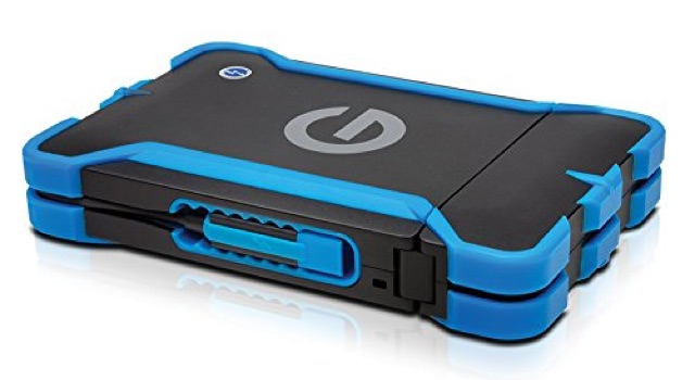 Best drive for surviving anything: G-Drive ev ATC with Thunderbolt