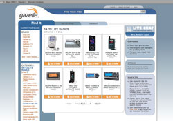 Gazelle.com screenshot