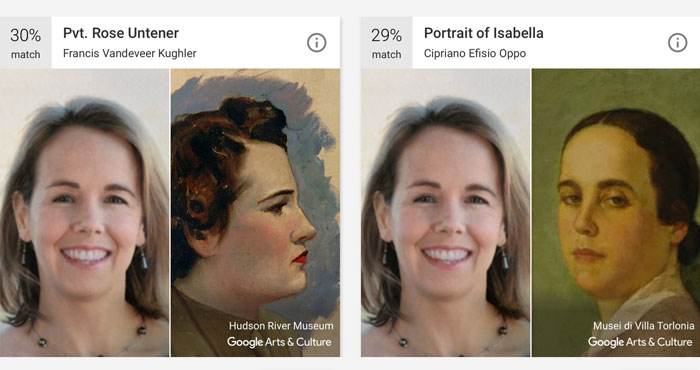 Google's App Can Now Match Your Selfies To Famous Paintings