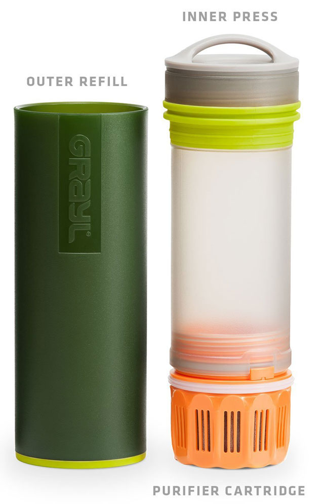 GRAYL Ultralight Water Purifier and Bottle