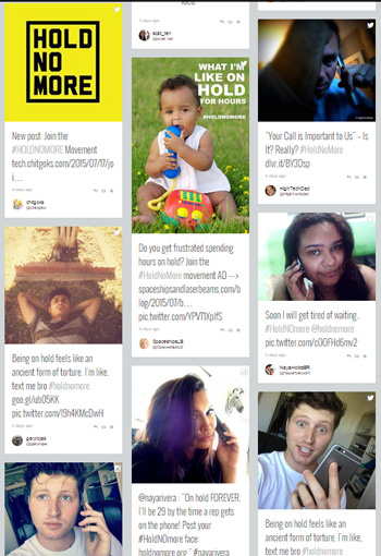 HoldNoMore social campaign