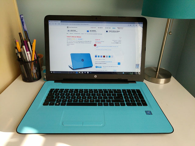 HSN HP 17 laptop