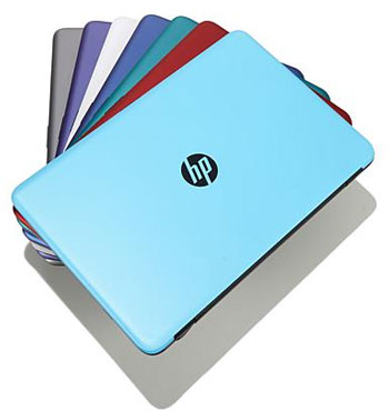 HSN HP 17 laptop colors