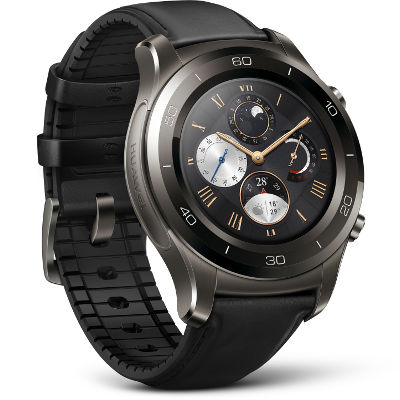 Huawei Watch 2 Classic side angle view