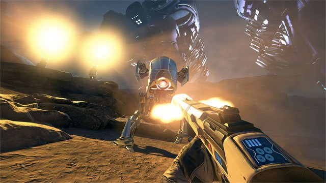 Sony Farpoint VR game