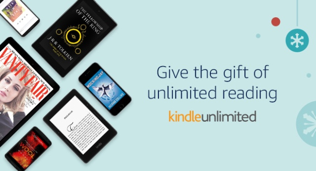 For readers: Kindle with Kindle Unlimited subscription