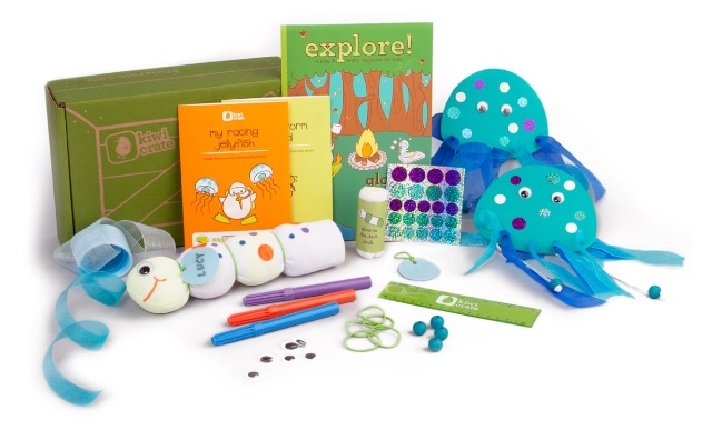For creative kids of any age: Kiwi Crate
