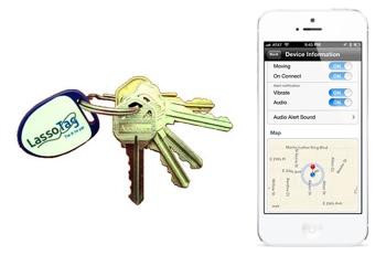 LassoTag iBeacon key tag