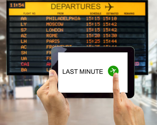 Tips for Booking Last Minute Travel