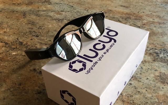 Lucyd Loud Bone Conduction Glasses