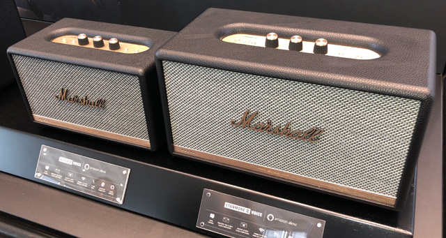 Nostalgic Marshall stage amp Bluetooth speaker
