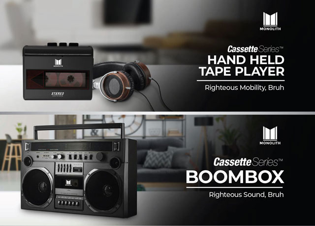 Monoprice Cassette Series