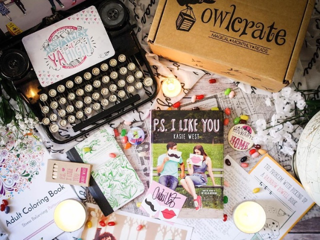 For the avid teen (or tween) reader: OwlCrate