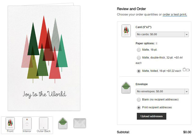 Holiday Card Sites That Mail Cards For You Techlicious