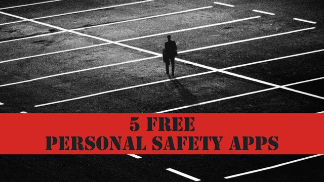 5 Free Personal Safety Apps